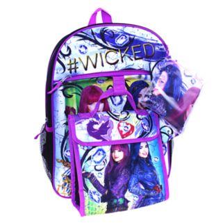Disney's Descendants Evie & Mal 5-pc. Backpack Set