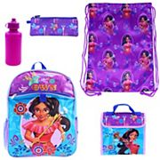 Disney's Elena of Avalor 5 pc Backpack Set