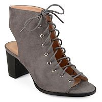 Journee Collection Posey Women's Peep Toe Booties