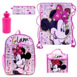 "Disney's Minnie Mouse ""Glam"" 5-pc. Backpack Set"