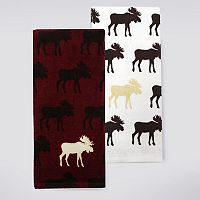 Celebrate Local Life Together Moose Rows Kitchen Towel