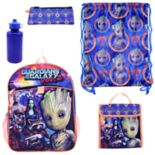 Marvel Guardians of the Galaxy Vol. 2 5 pc Backpack Set