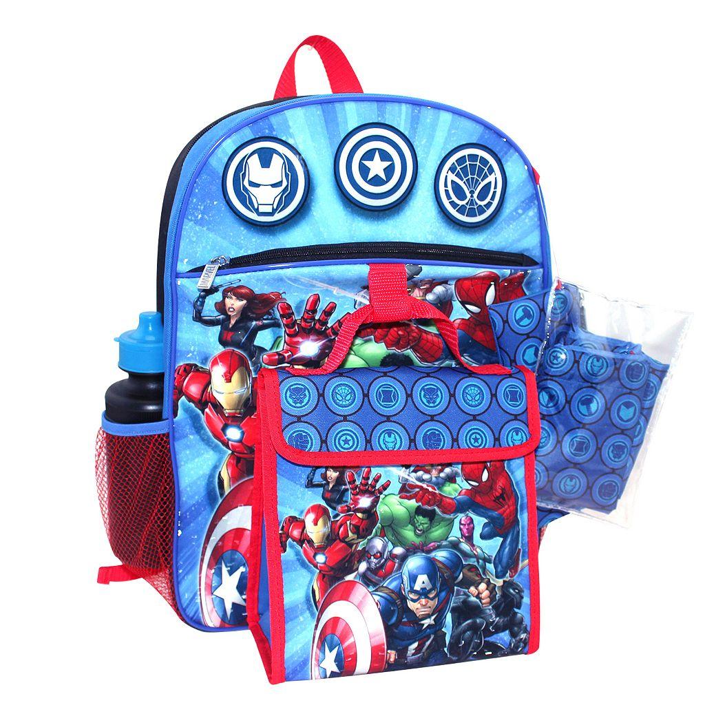 Marvel Avengers 5-pc. Backpack Set