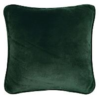 Cuddl Duds Solid Sherpa Fleece Backed I Throw Pillow