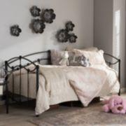 Baxton Studio Dahlia Victorian Twin Daybed