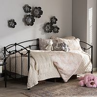 Baxton Studio Dahlia Victorian Twin Daybed