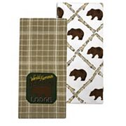 Celebrate Local Life Together Bear Lake Lodge Patch Kitchen Towel