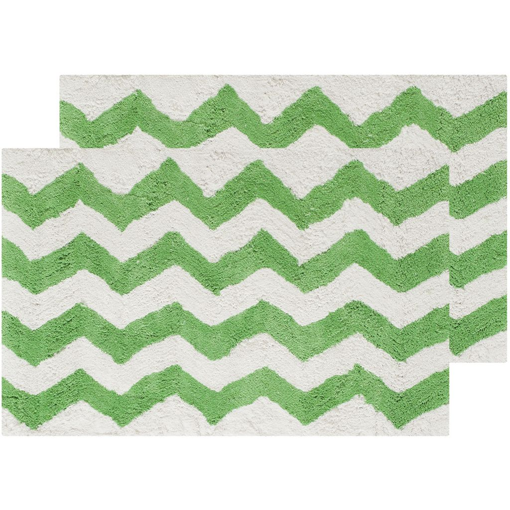 Safavieh 2-pack Chevron Bath Rug Set - 21'' x 34''