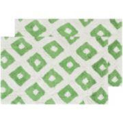 Safavieh 2-pack Diamond Geometric Bath Rug Set - 21'' x 34''