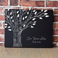 Cathy's Concepts Family Tree Chalkboard Sign Wall Decor