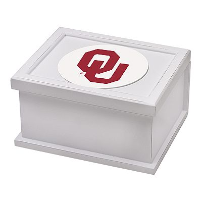 Thirstystone Oklahoma University Keepsake Box and Coaster Set