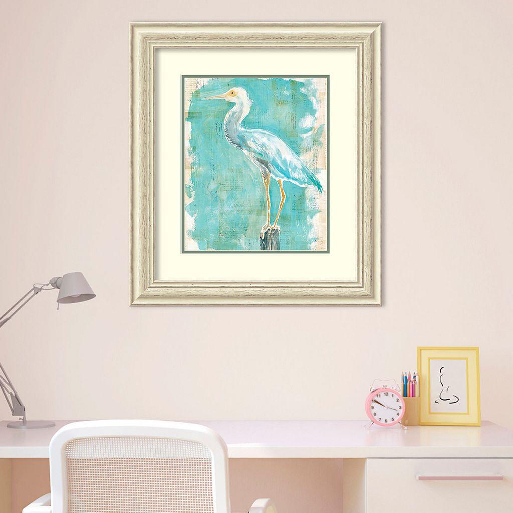 Amanti Art Coastal Egret II Framed Wall Art