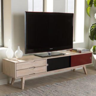 Baxton Studio Mid-Century Modern TV Stand