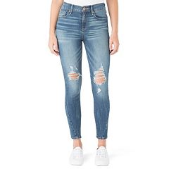 Juniors' DENIZEN from Levi's Ripped High-Waist Ankle Jeggings