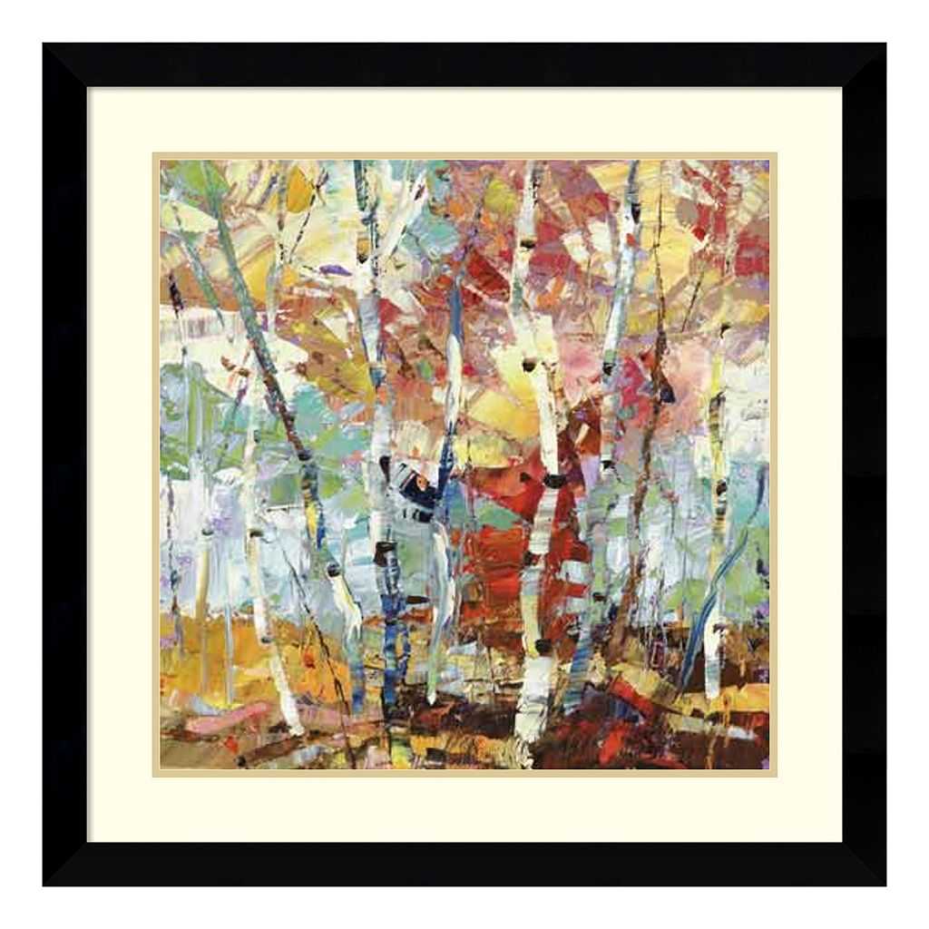 Amanti Art Color Burst 1 Framed Wall Art