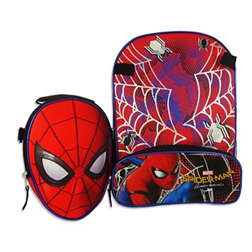 Marvel Spider-Man Backpack & Lunch Bag Set