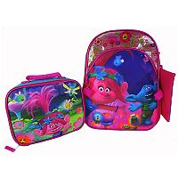 Dreamworks Trolls Poppy Backpack & Lunch Bag Set