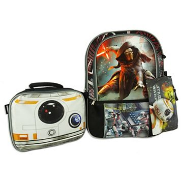 Star Wars: Episode VII The Force Awakens Graphic Backpack & Lunch Bag Set