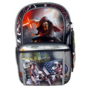 Star Wars: Episode VII The Force Awakens Graphic Backpack & Lunch Bag Set