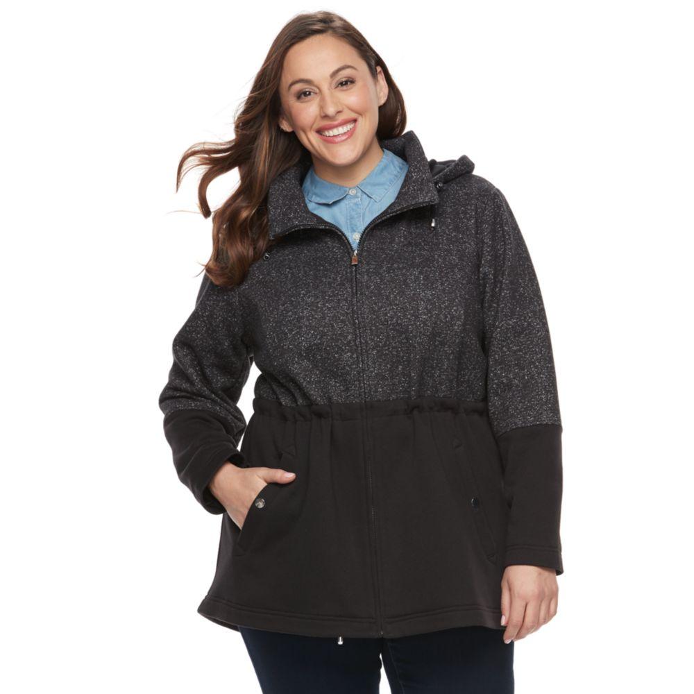 size d.e.t.a.i.l.s fleece anorak jacket
