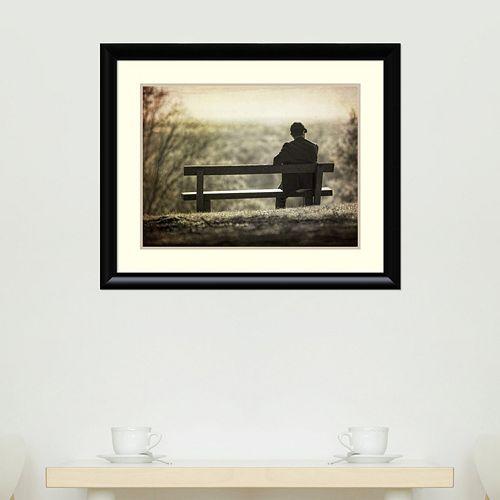 Amanti Art Contemplation Framed Wall Art