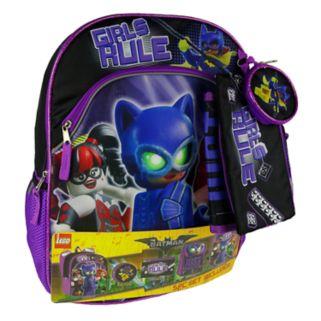 Girls 4-16 Lego Batman 5-pc. Backpack, Lunch Box & Accessories Set