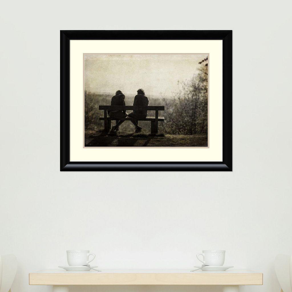 Amanti Art Conversation Framed Wall Art