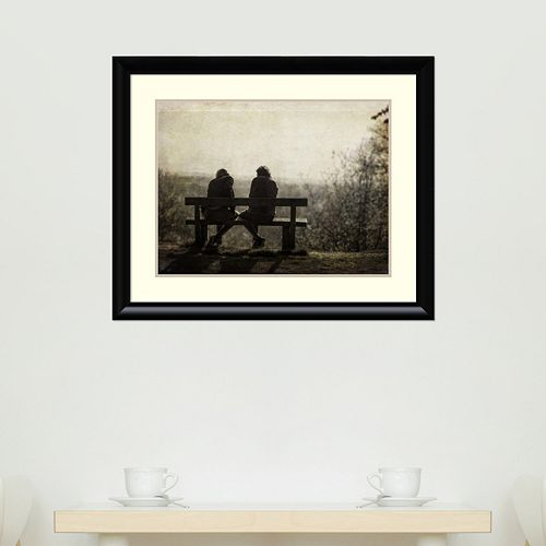 Amanti Art Conversation Framed Wall Art