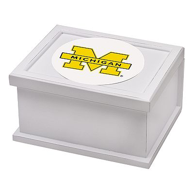 Thirstystone University of Michigan Keepsake Box and Coaster Set