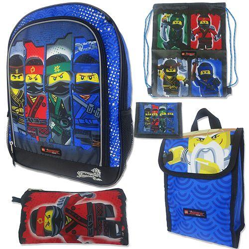 d1275aec18b LEGO The Ninjago Movie 5-pc. Backpack Set
