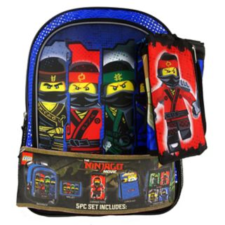 LEGO The Ninjago Movie 5-pc. Backpack Set
