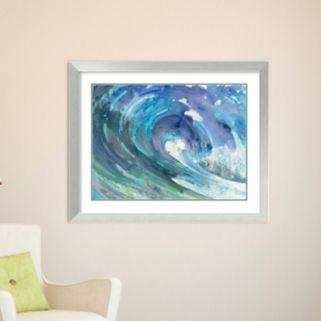 Amanti Art Curl Framed Wall Art
