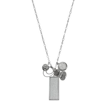 Long Geometric Charm Cluster Necklace