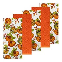 The Big One® Pumpkin Watercolor Kitchen Towel 5-pk.