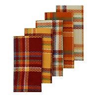 The Big One® Woven Plaid Kitchen Towel 5-pk.