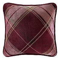 Cuddl Duds Red Plaid Throw Pillow