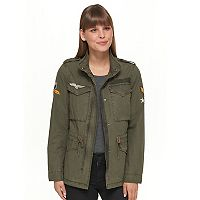 Women's Levi's Military Jacket With Embroidered Patches
