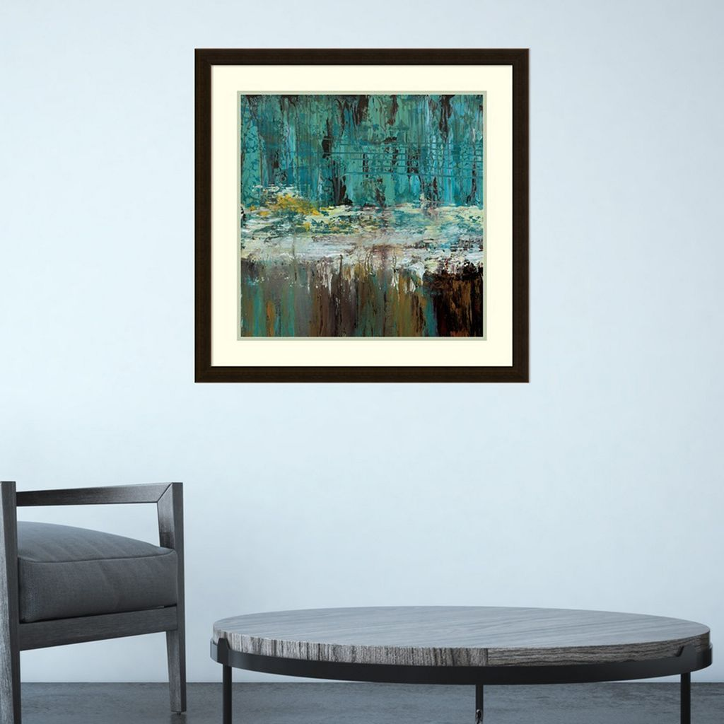 Amanti Art Deep Waters I Framed Wall Art