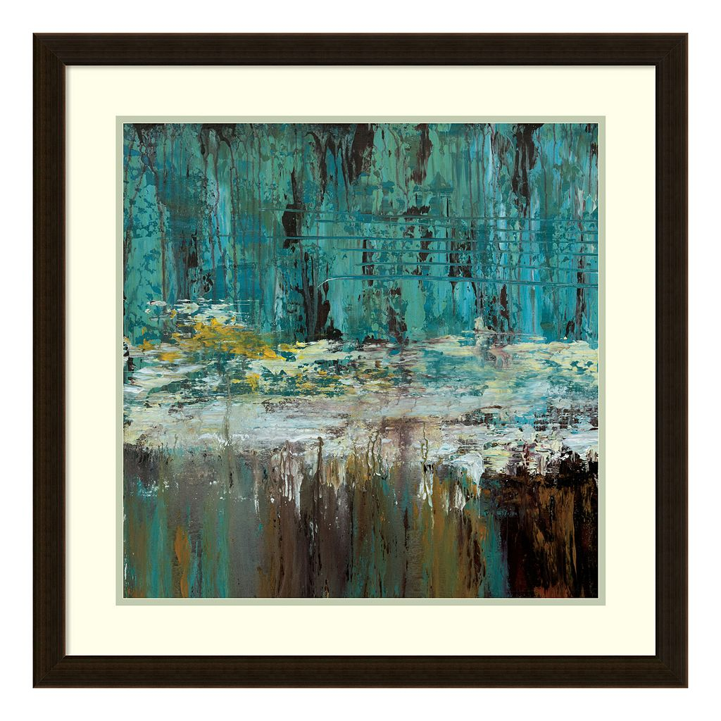 Amanti Art Deep Waters I Framed Wall Art