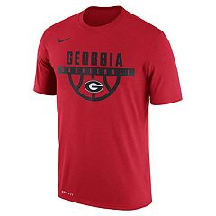 Men's Nike Georgia Bulldogs Dri-FIT Basketball Tee