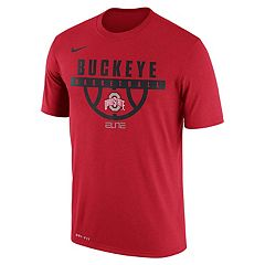 Men's Nike Ohio State Buckeyes Dri-FIT Basketball Tee