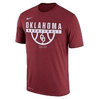 Men's Nike Oklahoma Sooners Dri-FIT Basketball Tee