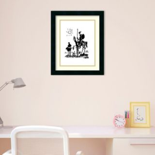 Amanti Art Don Quixote Framed Wall Art by Pablo Picasso