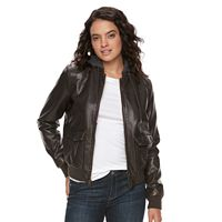 Women's Levi's® Faux-Leather Bomber Jacket