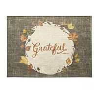 Celebrate Fall Together Grateful Placemat