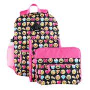 Kids 6-pc. Emoji Backpack & Accessories Set