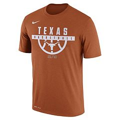 Men's Nike Texas Longhorns Dri-FIT Basketball Tee