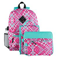 Kids 6 pc Geometric Backpack & Accessories Set