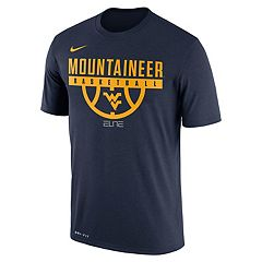 Men's Nike West Virginia Mountaineers Dri-FIT Basketball Tee