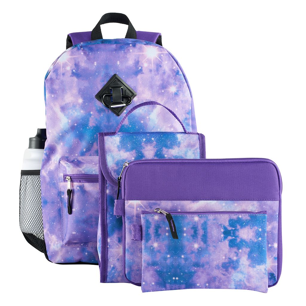 Kids 6-pc. Galaxy Backpack & Accessories Set